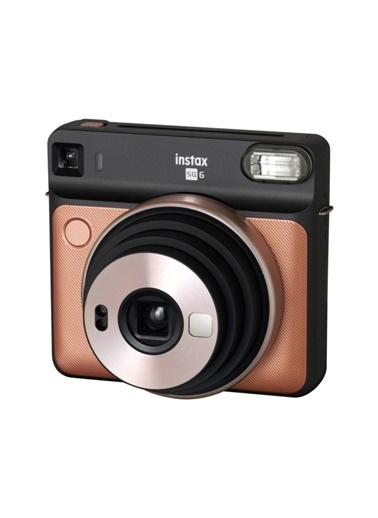 Fujifilm instax SQ 6 Altin-Siyah Fotograf Makinesi ve Hediye Seti 2 Renkli